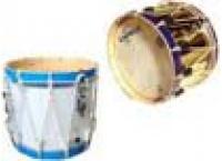 Tambours 4/4 a cordage cercles bois