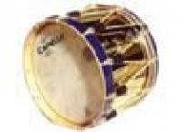 Tambours 3/4 a cordage cercles bois