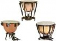 Timbales a pedale fut cuivre