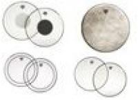 Peaux plastiques tom / caisse claire / tambour