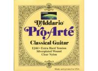 JEU 6 CORDES D'ADDARIO PRO-ARTE EXTRA-HARD GUITARE CLASSIQUE EJ44