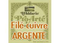 CORDE DE LA 5EME D'ADDARIO PRO-ARTE EXTRA-HARD GUITARE CLASSIQUE