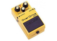 PEDALE EFFET OVERDRIVE GUITARE ELECTRIQUE BOSS OD-3