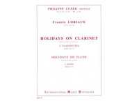 HOLIDAYS ON CLARINET - HOLIDAYS ON FLUTE