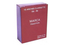 BOITE ANCHES CLARINETTE SIB MARCA TRADITION N°1 1/2