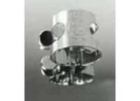 LIGATURE CLARINETTE MIB HEROUARD & BENARD HB 100 ARGENTEE