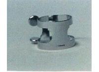 LIGATURE CLARINETTE MIB HEROUARD & BENARD M 70 NICKELEE