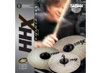 PACK CYMBALES SABIAN HHX SET PERFORMANCE