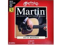 CORDE GUITARE ACOUSTIQUE MARTIN 80/20 BRONZE 26