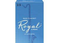 BOITE 10 ANCHES CLARINETTE BASSE RICO ROYAL N°2 1/2