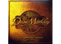 JEU 6 CORDES GUITARE ACOUSTIQUE DEAN MARKLEY SIGNATURE VINTAGE 2002A