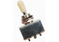 SELECTEUR MICRO GUITARE YELLOW PART'S TOGGEL EZ1108W BLANC