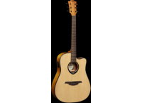 GUITARE ELECTROACOUSTIQUE PAN COUPE LAG TRAMONTANE JUMBO T66DCE