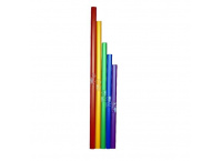 LOT DE 5 BOOMWHACKERS CHROMATIQUES DO# A SIB