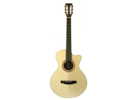 GUITARE ELECTROACOUSTIQUE LAKEWOOD A-14 CP PAN COUPE