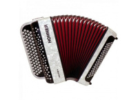 ACCORDEON CHROMATIQUE 80 BASSES HOHNER NOVA II 80 BLANC