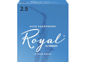 BOITE 10 ANCHES SAXOPHONE ALTO RICO ROYAL N°2 1/2