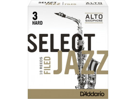 BOITE 10 ANCHES SAXOPHONE ALTO D'ADDARIO SELECT JAZZ FILED N°3 H