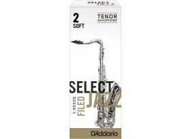 BOITE 5 ANCHES SAXOPHONE TENOR RICO SELECT JAZZ FILED N°2 S