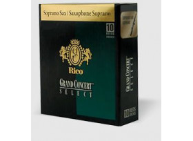 BOITE 10 ANCHES SAXOPHONE SOPRANO RICO GRAND CONCERT SELECT N°4
