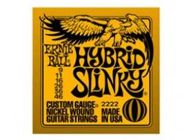 JEU 6 CORDES GUITARE ELECTRIQUE ERNIE BALL HYBRID SLINKY 9/46