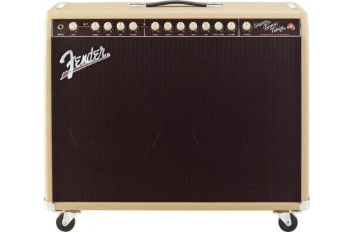 OCCASION AMPLI A LAMPES & EFFETS FENDER SUPER SONIC TWIN COMBON BLONDE