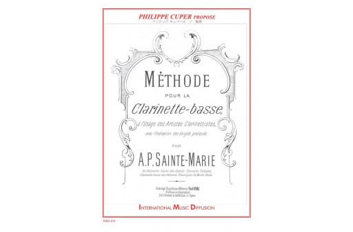 METHODE POUR LA CLARINETTE BASSE