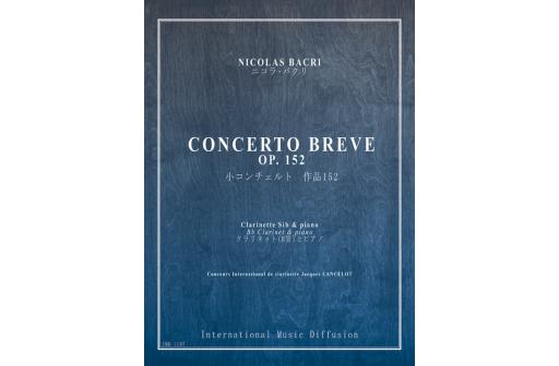 CONCERTO BREVE OP 152