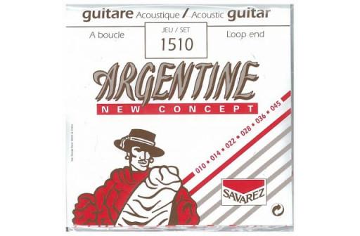 JEU 6 CORDES GUITARE JAZZ ACOUSTIQUE ARGENTINE 1510