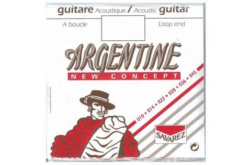CORDE MI 1ERE GUITARE JAZZ ACOUSTIQUE ARGENTINE 1011
