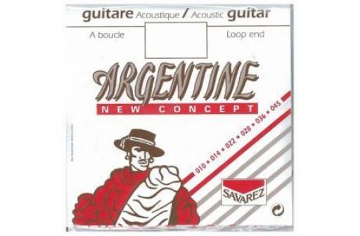 CORDE MI 1ERE GUITARE JAZZ ACOUSTIQUE ARGENTINE 1011MF