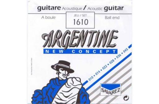 JEU 6 CORDES GUITARE JAZZ ACOUSTIQUE ARGENTINE 1610