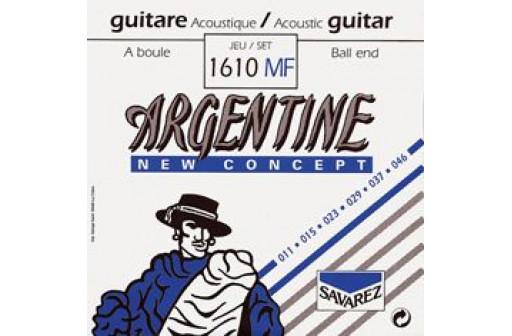JEU 6 CORDES GUITARE JAZZ ACOUSTIQUE ARGENTINE 1610MF