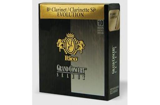 BOITE 10 ANCHES CLARINETTE SIB D'ADDARIO GRAND CONCERT EVOLUTION N°3 1