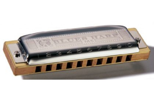 HARMONICA DIATONIQUE HOHNER MS BLUES HARP 532/20 D - RE