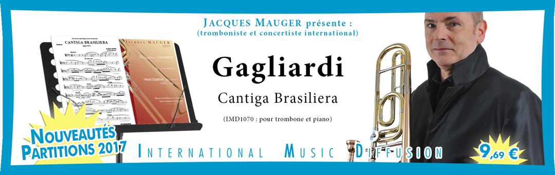 CANTIGA BRASILIERA pour trombone et piano