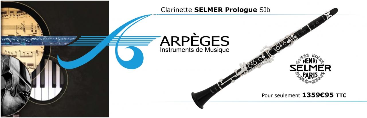 Clarinette SELMER Prologue SIb